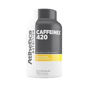 Caffeinex 420mg (90 Caps) - Atlhetica Nutrition