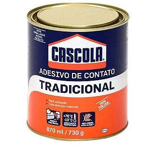 Adesivo de contato Tradicional Cascola 870ml / 730g