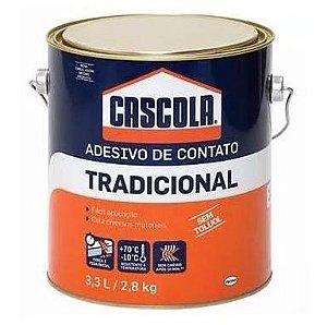 Adesivo de contato Tradicional Cascola 3,3 l / 2,8 kg