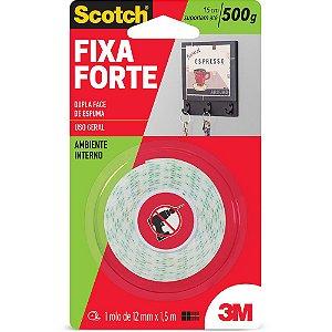Fita Dupla Face de espuma  Fixa Forte - 3M