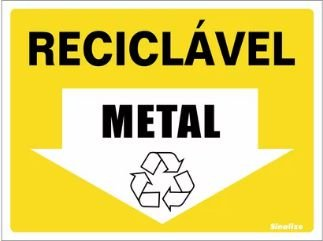 Reciclável (METAL)