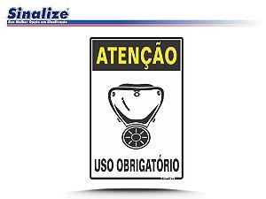 ATENÇÃO USO OBRIGATÓRIO DE MASCÁRA