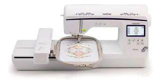 Máquina de Bordados Brother BP1430L Area de trabalho 15 x 26 com + kit de linha ricamare