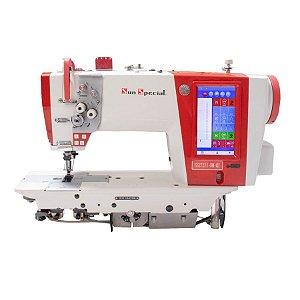 Máquina Costura Industrial Pespontadeira Eletrônica Barra Fixa Sun Special SS272II-DM-QI - 220V