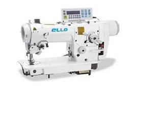Maquina de costura tipo ZIG ZAG 2 e 3 pontinhos eletrônica Direct Drive Ello EL-2284D-7P - 220 V
