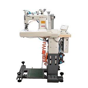 Máquina Costura Industrial Fechadeira Braço Eletrônica Sun Special  SS928D-AT-2PL-H-PO - 220 V