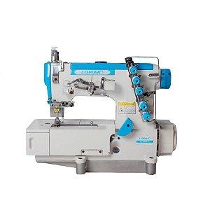 Máquina Costura Industrial Galoneira Plana Fechada Lumak LU500D-01-TZ-QI - 220 V