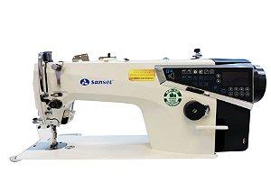 Máquina de Costura Reta Eletrônica Sansei SA-MQ4 - 220 vlts COM KIT DE CALCADORES