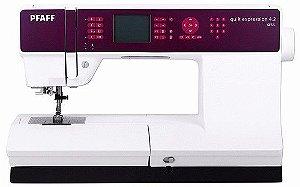 Máquina de Costura Eletrônica  PFAFF Quilt Expression 4.2 AutoVolt + KIT DE LINHAS