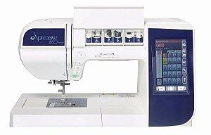 Maquina de Costura e bordados Elna Expressive 860 + KIT COM 20 CONES DE LINHAS