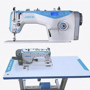 Maquina de Costura Reta Eletronica Jack A4-7 Ponto 7mm - 220 vlts com Comando de Voz