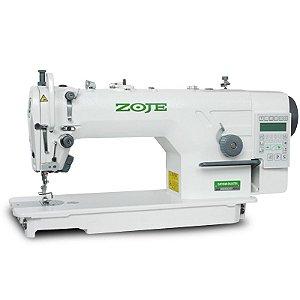 Maquina  Reta Eletrônica Direct Drive Zoje  ZJ-9703AR-D4J-02 - 220 VLTS + KIT DE CALCADORES
