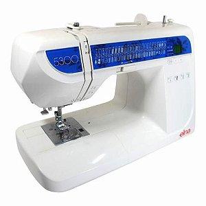 Máquina de Costura Domestica Elna 5300 - 110 VLTS + Kit de Linhas