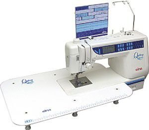 Maquina de Costura Elna 7300 - 110 VLTS + KIT DE LINHAS