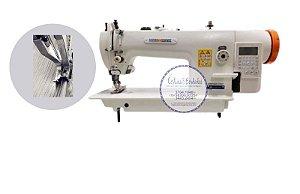 Maquina de Costura Reta Transporte Duplo Direct Drive Megamak MK0303-D4 - 220 VLTS