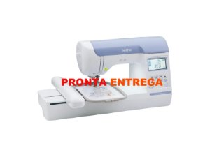 Máquina de Bordado Brother BE 815 L Com 20 Linhas de Bordar e Bastidor de 2 estagio Extra