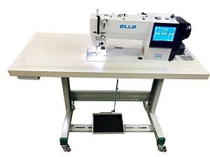 Máquina de Costura Reta Transporte duplo Agulha e Dente Ello EL-1979 - 220 vlts