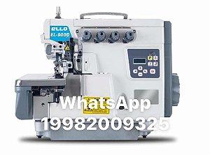 Maquina Overloque Direct Drive Corte de Linha Ello EL-9000D3-M2-04/UT - 220 vlts