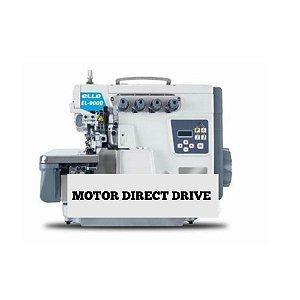 Maquina Interloque Direct Drive Corte de Linha Ello  EL-900D5-M2-35-UT - 220 vlts