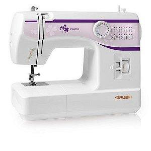Máquina de Costura Doméstica Siruba HSM2212 - 110 vlts + Kit de Linhas