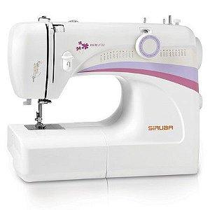 Máquina de Costura Doméstica Siruba HSM2722 - 220 vlts + KIT DE LINHAS