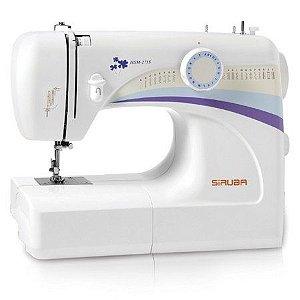 Máquina de Costura Doméstica Siruba HSM2715 - 110 vlts + kit de linhas