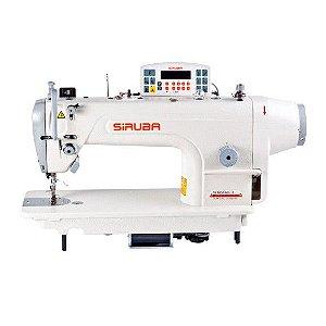 Máquina Reta Industrial Siruba Eletrônica Direct Drive DL7000-BM1-13 + KIT DE CALCADORES