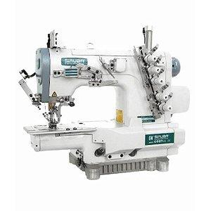 Máquina Galoneira Eletrônica Cilíndrica com Refilador Siruba C007KD-W812-364/CRL/UTP -220 vlts