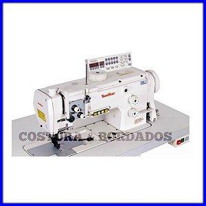 Maquina de Costura Transporte Triplo Sunstar Eletronica KM-1060BL-7SK - 220 VLTS