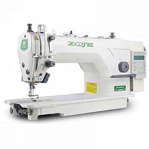 Maquina Reta Eletrônica Direct Drive Zoje  ZJ-9703AR-D4J-02 - 110 VLTS + KIT DE CALCADORES