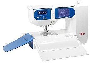 Maquina de Costura Domestica Elna LOTUS 18 pontos - 110 VLTS + Kit de Linhas