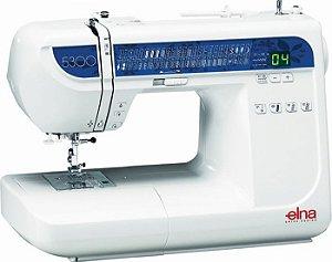 Máquina de Costura Domestica Elna 5300 - 220 VLTS + Kit de Linhas