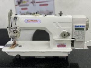 Maquina Reta Eletronica Direct Drive Com corte de linha e Levantamento de Calcador Lumak  LU9900-D4-TZ-HM - 220 V