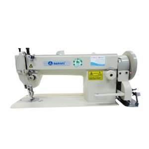 Maquina de Costura Transporte Duplo Dente e Calcador Sansei SA-0302 - BIVOLT