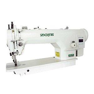 Maquina de Costura Reta Transporte Duplo Direct Drive Zoje ZJ-0303L-3-BD - 220 V + Kit de Calcador de Vivo