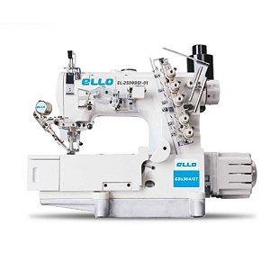 Maquina de Costura Galoneira Plana 3 Agulhas com Corte de Linha Ello EL-2500BDII-01GBX364/UT -  220 V