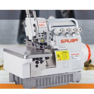Máquina De Costura Interlock Siruba  Eco 657KP-516M2-55 MM  DIRECT DRIVE - 220 V