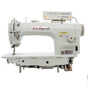 Máquina de Costura Industrial Reta Eletrônica SUNSPECIAL com Motor Direct Drive - GC6720MD3 - 220 V