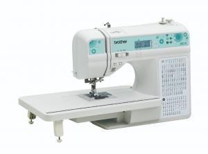 Máquina de Costura Brother QB9110L com 100 pontos Acompanha Mesa Extensora