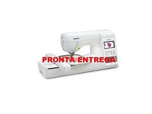 MAQUINA DE BORDADOS BROTHER PE 810 L COM KIT DE LINHAS ENTRETELAS E AGULHAS