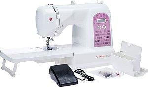 Máquina de Costura Eletrônica Starlet 6699 Singer - 220 V