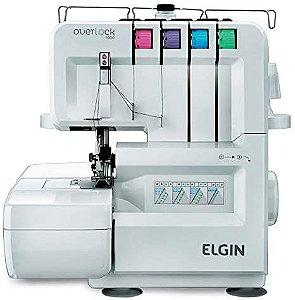 MAQUINA DE COSTURA OVERLOQUE DOMESTICA ELGIN 1000 - 110 V