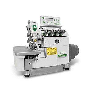 Maquina Interloque Eletrônica Média com Motor Direct Drive Zoje ZJ-932-38-BD-D3A - 220 V