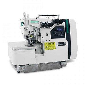 Maquina Interloque Bitola Media Direct Drive Zoje B9500-38 Completa com Mesa e pes Montados - 220 V