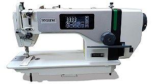MAQUINA DE COSTURA RETA ELETRONICA  ZOJE A8000-D4-TP - 110 V COM KIT DE CALCADORES