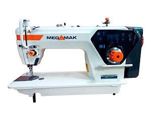 MAQUINA DE COSTURA RETA MOTOR DIRECT DRIVE  MEGAMAK  H1 -110 V COM KIT DE CALCADORES