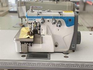 Maquina Overloque 1 Agulha Jack JK-E4S-3-82/233 com Diferencial para Ajuste altura dentes e Arremate - 220 vlts