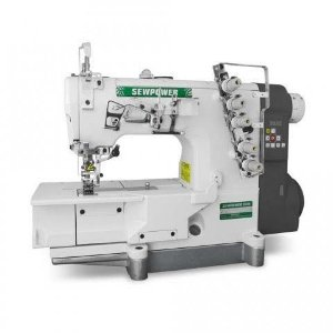 Maquina Galoneira Sew Power SP-500D-01 Base Plana 3 Agulhas Direct Drive  - 220 V