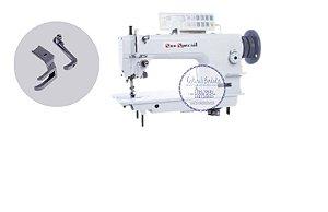 Máquina Costura Industrial Reta Transporte Triplo Eletrônica para Materiais Pesados Sun Special GC-0617-D2 - 220 V