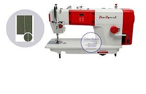 Máquina Costura Industrial Reta Direct Drive Control Box Painel Acoplado 220v Sun Special SS190D-MQ - 220 V